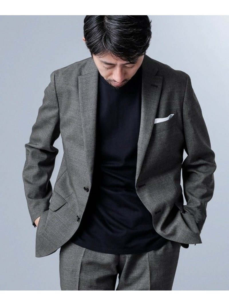[Rakuten Fashion]【SALE/40%OFF】ナノセンサーPORTERソリッドジャケットLUX nano・universe ナノユニバース コート/ジャケット テーラードジャケット グレー ネイビー【RBA_E】【送料無料】