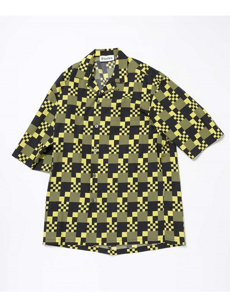 [Rakuten BRAND AVENUE]【SALE/30%OFF】クラシックフィットチェッカーシャツ Etudes ナノユニバース シャツ/ブラウス【RBA_S】【RBA_E】【送料無料】