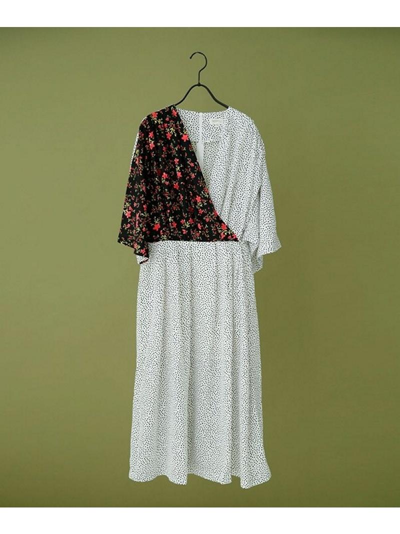 [Rakuten BRAND AVENUE]Beyond the Dot Maxi Dress GHOSPELL ナノユニバース ワンピース【送料無料】