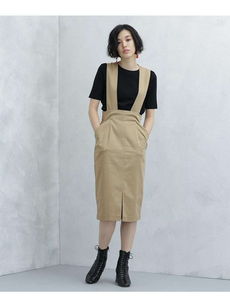 [Rakuten BRAND AVENUE]ワイド2wayジャンパースカート Dickies ナノユニバース スカート【送料無料】