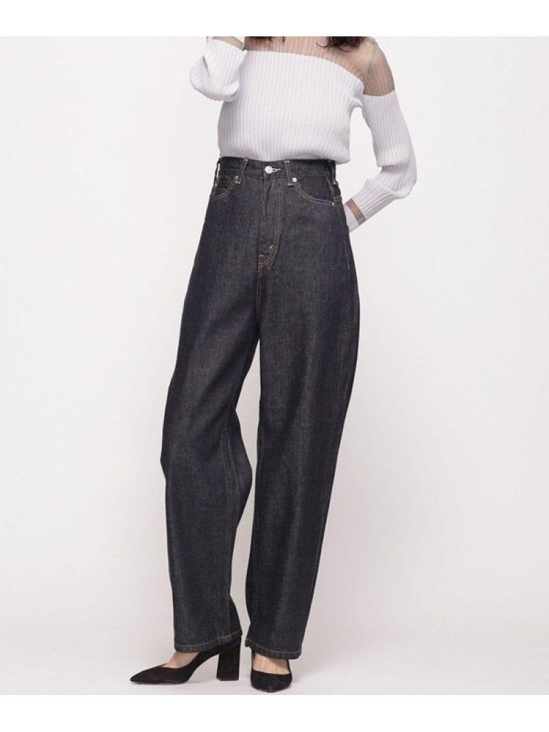 [Rakuten Fashion]【SALE/10%OFF】DRYDENIM SERGE de bleu ナノユニバース パンツ/ジーンズ フルレングス ネイビー【RBA_E】【送料無料】