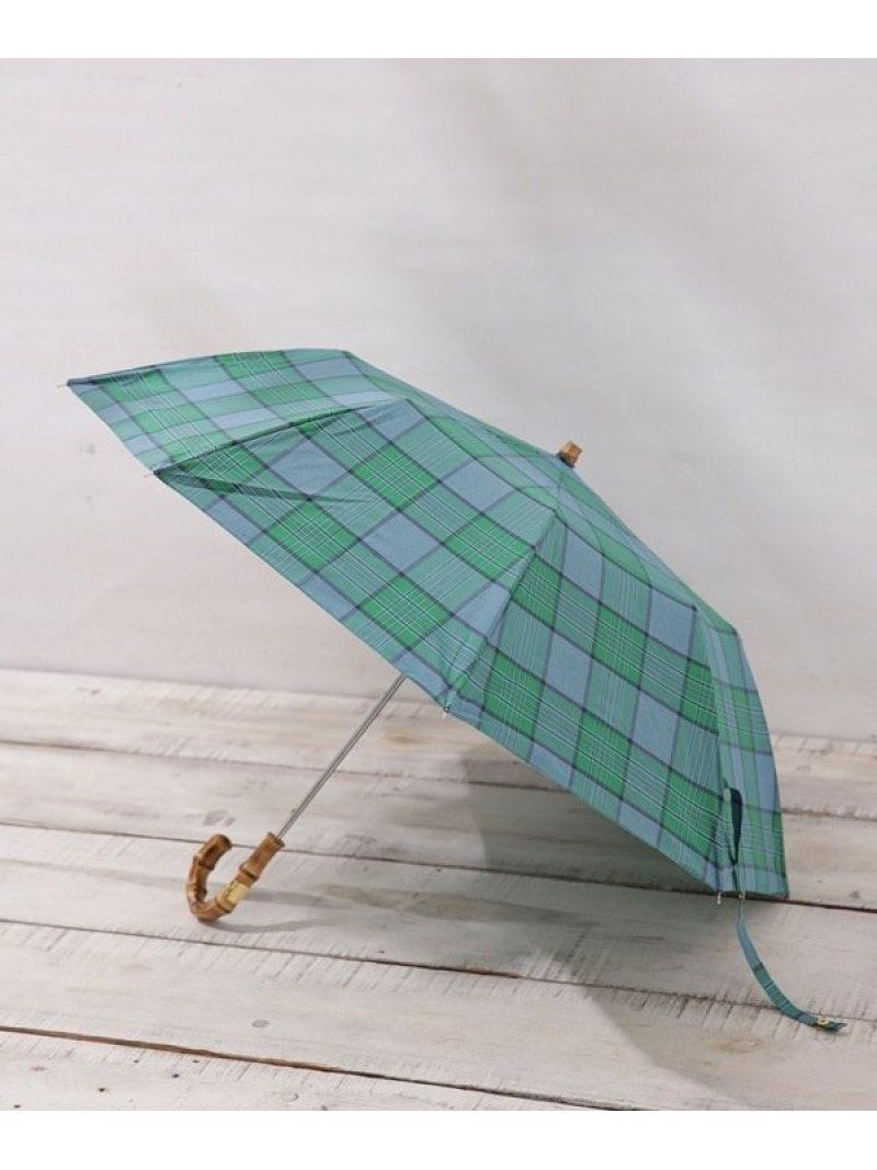 [Rakuten BRAND AVENUE]晴雨兼用 傘 FLDNG BAMB GLD ナノユニバース その他【送料無料】