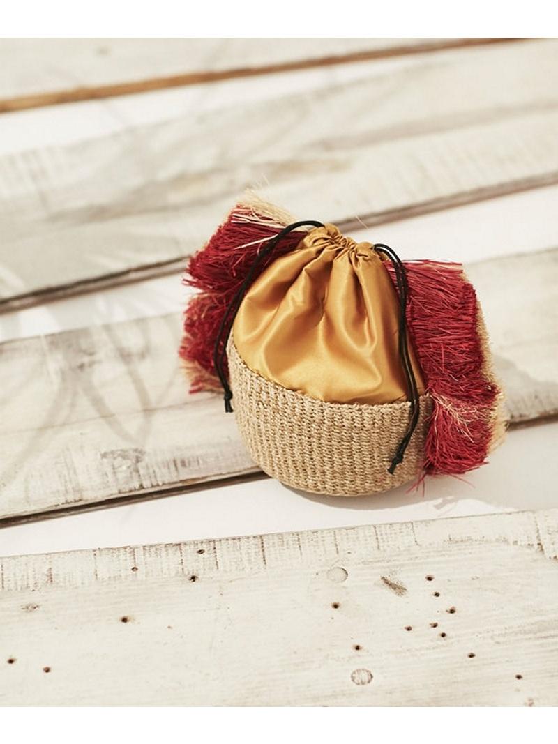 [Rakuten BRAND AVENUE]【SALE/50%OFF】Drawstring basket bag Liberty Bell ナノユニバース バッグ【RBA_S】【RBA_E】【送料無料】