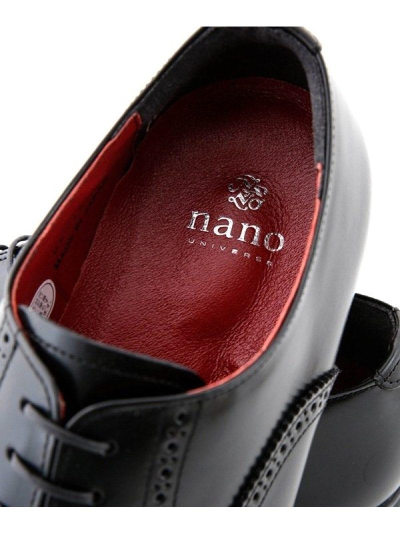 Rakuten FashionSALE 20 OFF エアーファンクションセミブローグ nano・universe ナノユニバース シューズ ドレスシューズ ブラック ブラウン RBA E送料無料vwO8N0ymn
