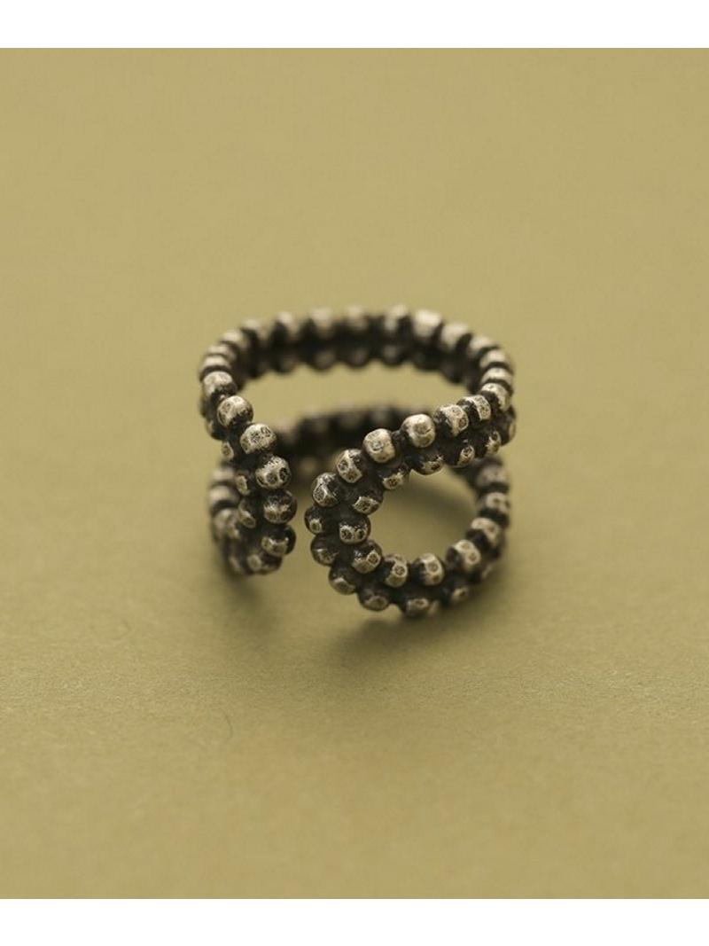 [Rakuten BRAND AVENUE]CUT STEEL ring ADER.bijoux ナノユニバース アクセサリー【送料無料】
