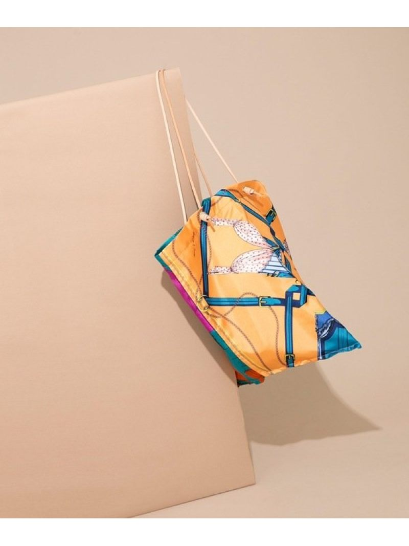 [Rakuten Fashion]プリントトートcarten manipuri ナノユニバース バッグ ショルダーバッグ【送料無料】