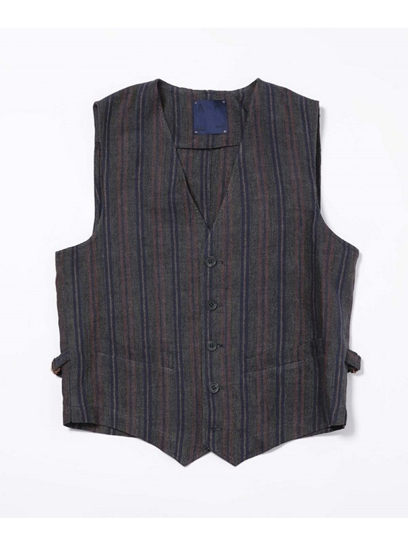 [Rakuten BRAND AVENUE]【SALE/40%OFF】LIGIHTWEIGHT LINEN VEST Altea ナノユニバース カットソー【RBA_S】【RBA_E】【送料無料】