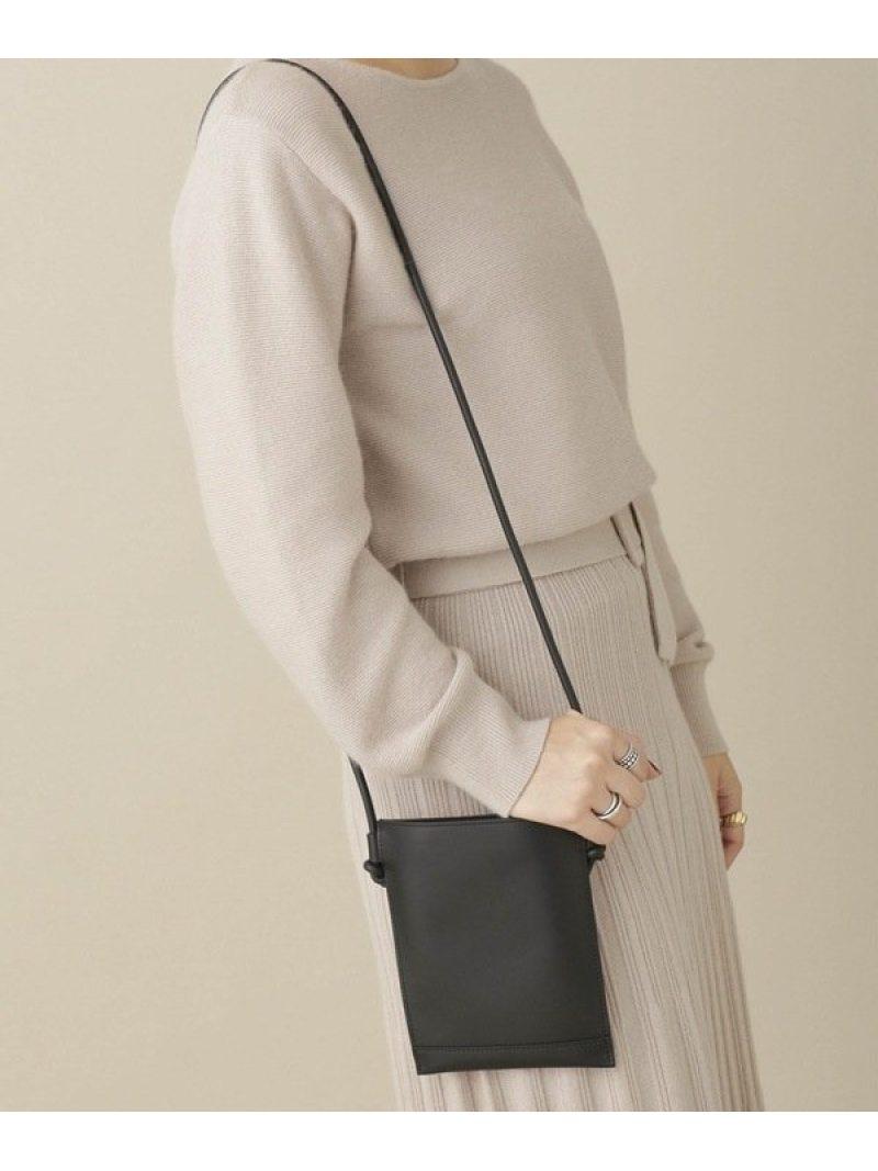 [Rakuten Fashion]sacoche THE PURSE ナノユニバース バッグ ショルダーバッグ ブラック オレンジ シルバー グレー【送料無料】