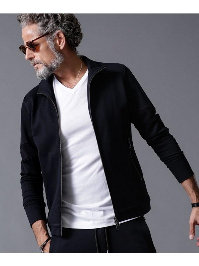 [Rakuten BRAND AVENUE]WLG jerseyトラックジャケット WillLOUNGE ナノユニバース コート/ジャケット【送料無料】
