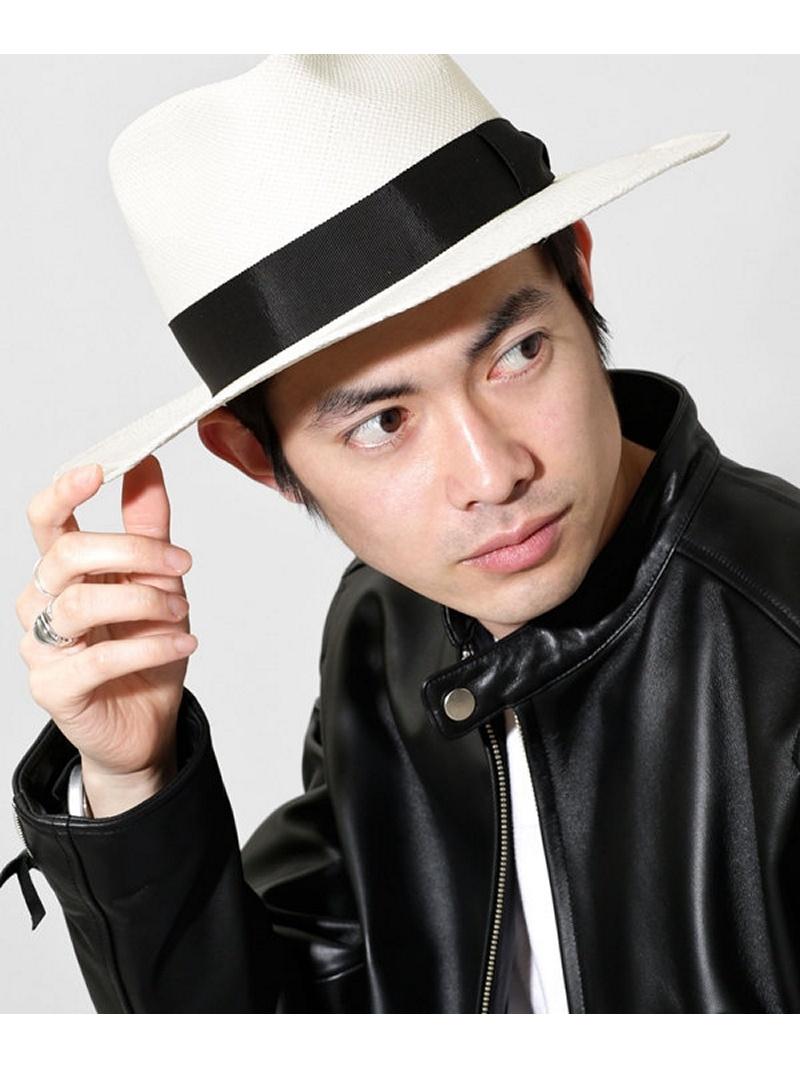 [Rakuten BRAND AVENUE]【SALE/40%OFF】RICO パナマハット Mighty Shine ナノユニバース 帽子/ヘア小物【RBA_S】【RBA_E】【送料無料】