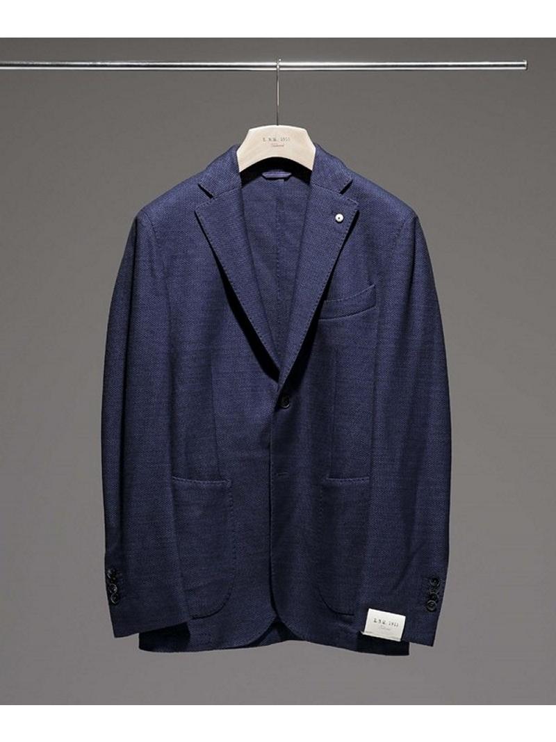 [Rakuten BRAND AVENUE]ホップサックブレザー L.B.M.1911 ナノユニバース コート/ジャケット【送料無料】