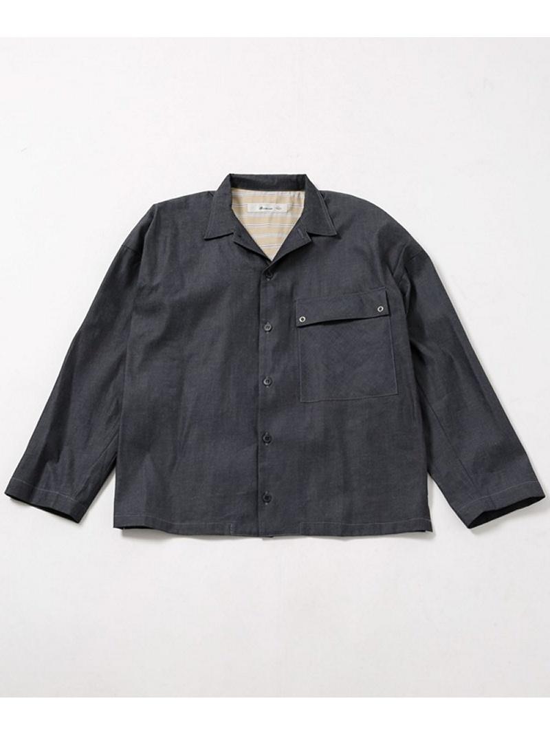 [Rakuten BRAND AVENUE]インディゴビッグシャツ Blonde rush ナノユニバース シャツ/ブラウス【送料無料】