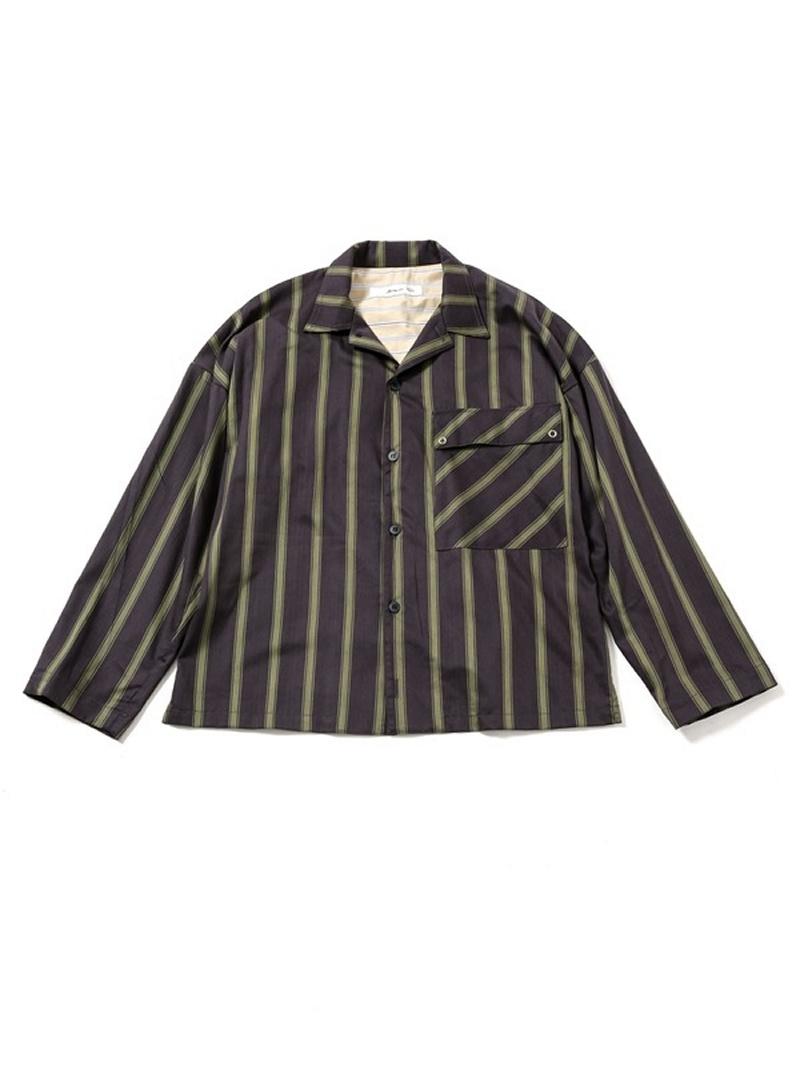 [Rakuten BRAND AVENUE]ストライプビッグシャツ Blonde rush ナノユニバース シャツ/ブラウス【送料無料】