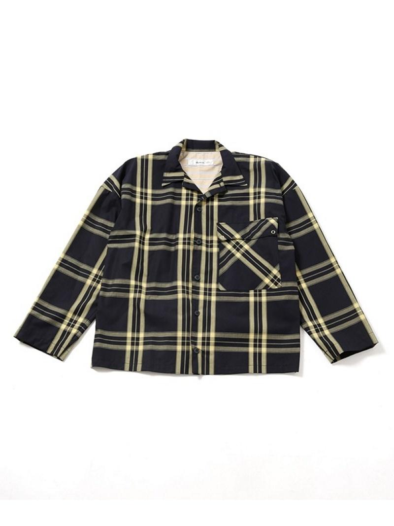 [Rakuten BRAND AVENUE]チェックビッグシャツ Blonde rush ナノユニバース シャツ/ブラウス【送料無料】