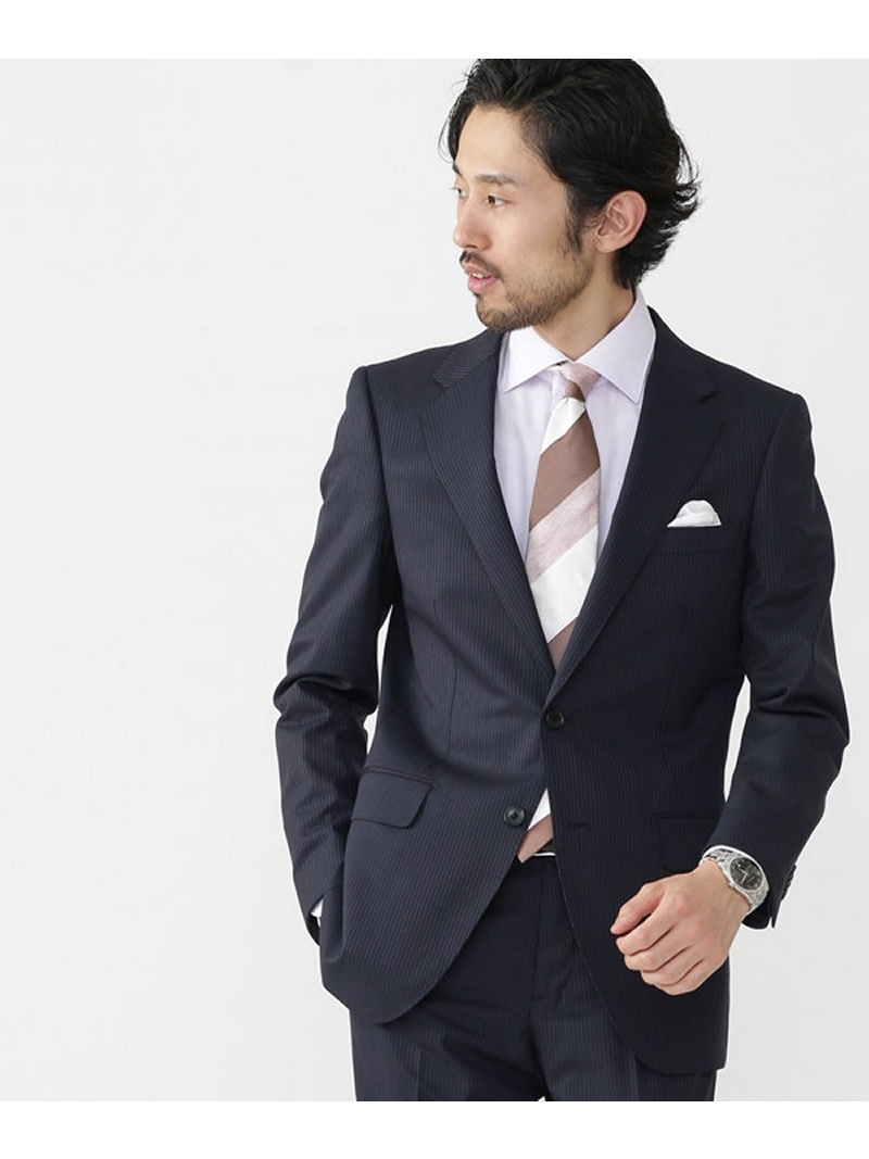[Rakuten Fashion]【SALE/40%OFF】PTT 2WAY STRETCHジャケット nano・universe ナノユニバース コート/ジャケット テーラードジャケット ネイビー グレー【RBA_E】【送料無料】