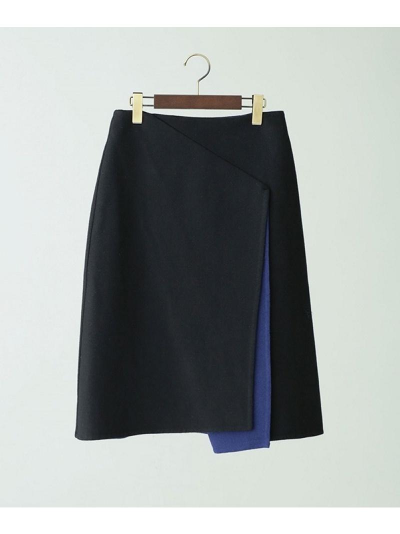 [Rakuten BRAND AVENUE]【SALE/40%OFF】リバーシブルラップスカート Unaca noir ナノユニバース スカート【RBA_S】【RBA_E】【送料無料】