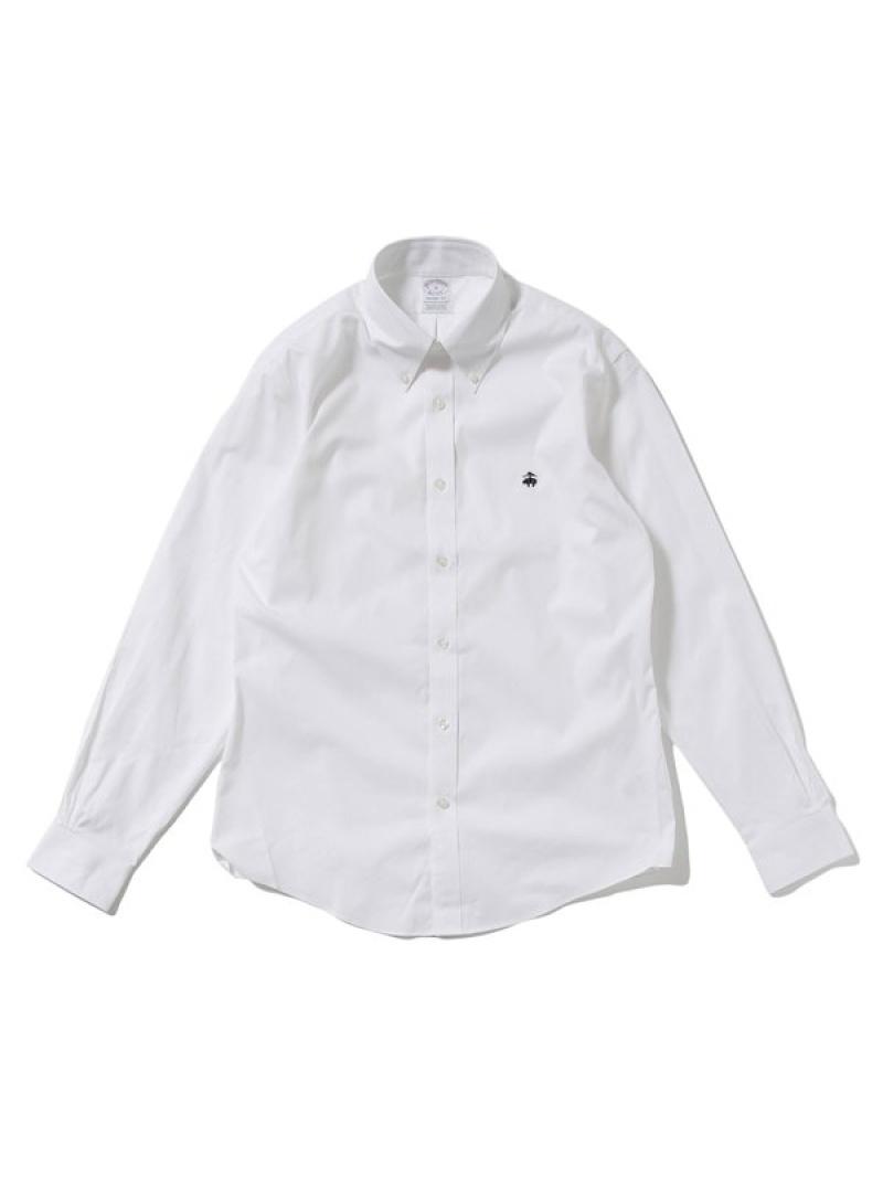 [Rakuten Fashion]オックスフォードボタンダウンシャツ BROOKS BROTHERS ナノユニバース シャツ/ブラウス シャツ/ブラウスその他 ホワイト ピンク ブルー【送料無料】