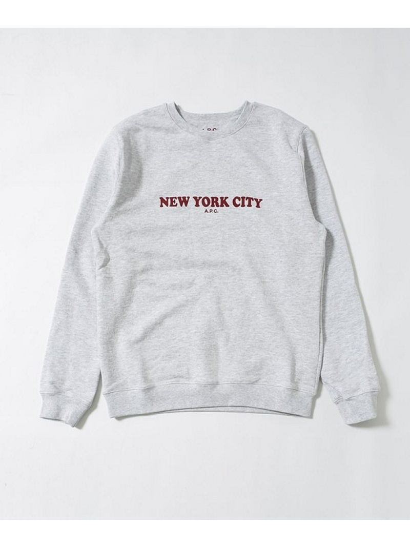 [Rakuten BRAND AVENUE]【SALE/30%OFF】SWEAT NYC A.P.C. ナノユニバース カットソー【RBA_S】【RBA_E】【送料無料】