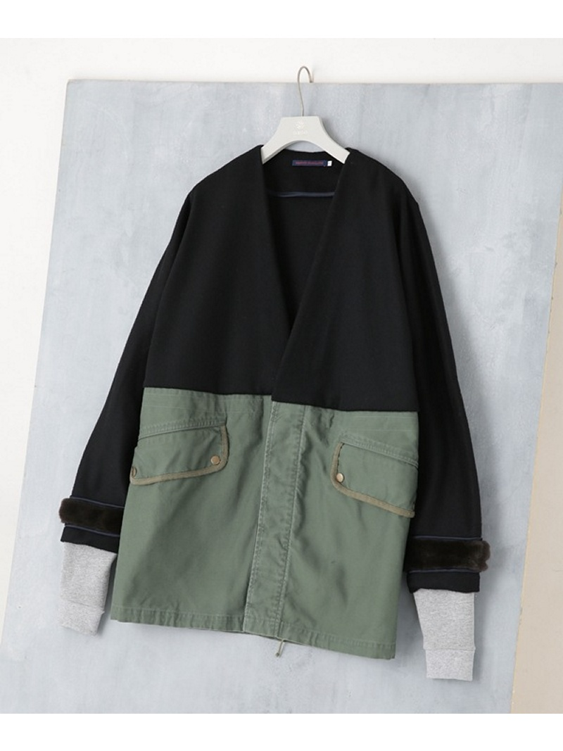 [Rakuten BRAND AVENUE]【SALE/40%OFF】Raglan Sleeve Surplus Coat HARVEY FARCLOTH ナノユニバース コート/ジャケット【RBA_S】【RBA_E】【送料無料】