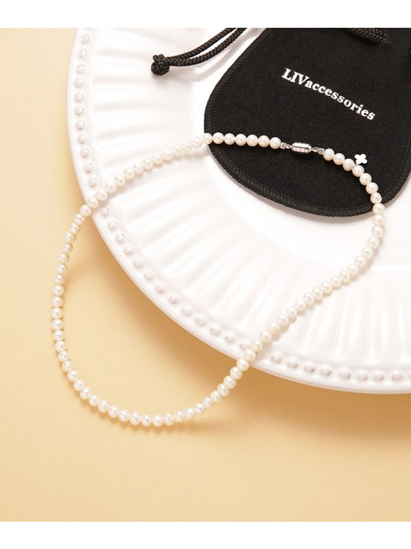 [Rakuten BRAND AVENUE]FO waterpearl 42cm Necklace nano・universe ナノユニバース アクセサリー【送料無料】