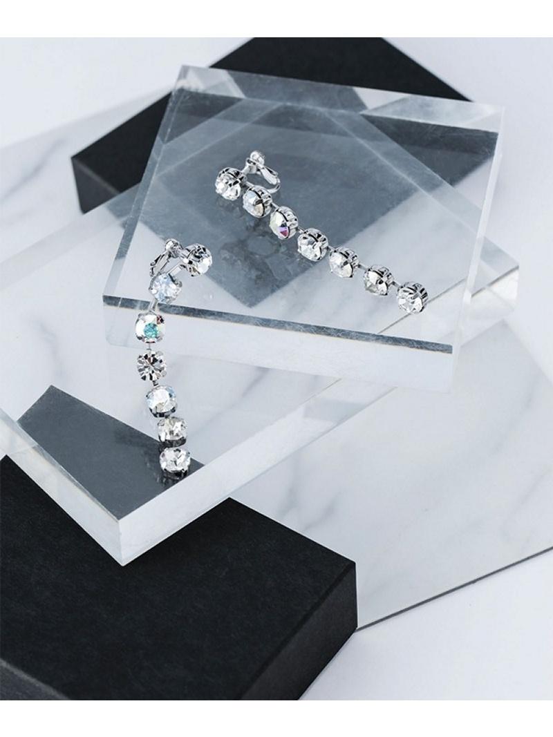 [Rakuten BRAND AVENUE]【SALE/30%OFF】Similar Colors Crystal Earring Bijou R.I ナノユニバース アクセサリー【RBA_S】【RBA_E】【送料無料】