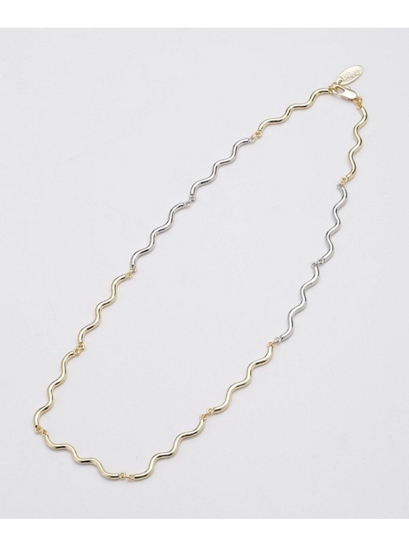 [Rakuten BRAND AVENUE]Big Wave Necklace Bijou R.I ナノユニバース アクセサリー【送料無料】