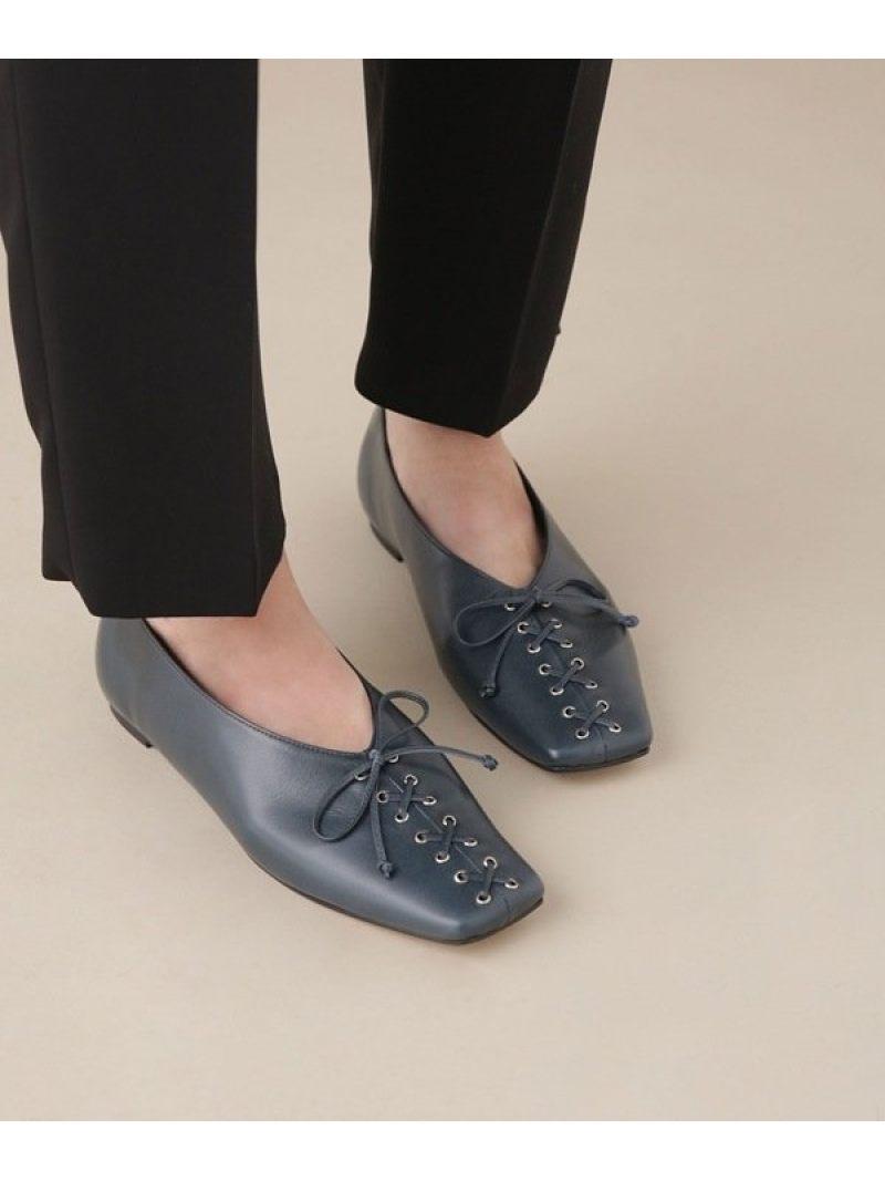 [Rakuten Fashion]【SALE/40%OFF】FLATLACE-UPBALLET CHEMBUR ナノユニバース シューズ シューズその他 グリーン【RBA_E】【送料無料】