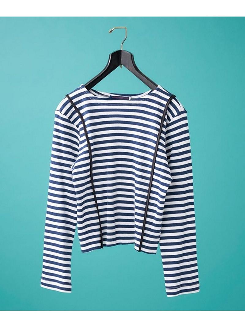 [Rakuten BRAND AVENUE]Longsleeve Striped T-Shirt HARVEY FARCLOTH ナノユニバース その他【送料無料】