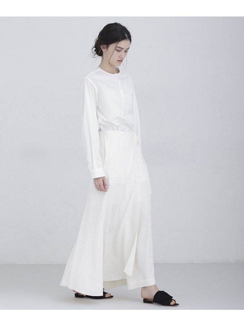 [Rakuten BRAND AVENUE]JACQUARD LONG SKIRT JANE SMITH ナノユニバース スカート【送料無料】
