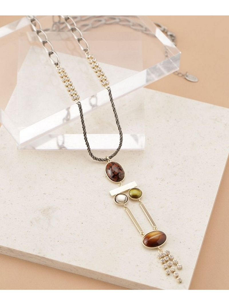 [Rakuten BRAND AVENUE]【SALE/30%OFF】EARTH long necklace ADER.bijoux ナノユニバース アクセサリー【RBA_S】【RBA_E】【送料無料】
