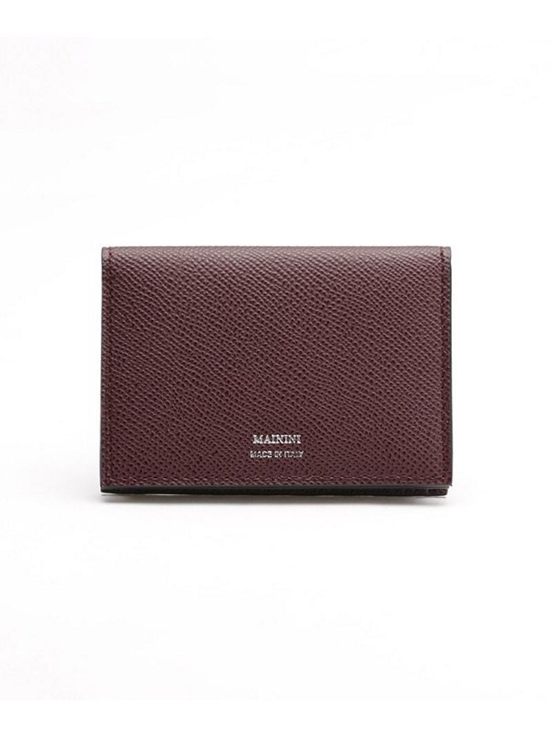 [Rakuten BRAND AVENUE]別注Card Case mainini ナノユニバース 財布/小物【送料無料】
