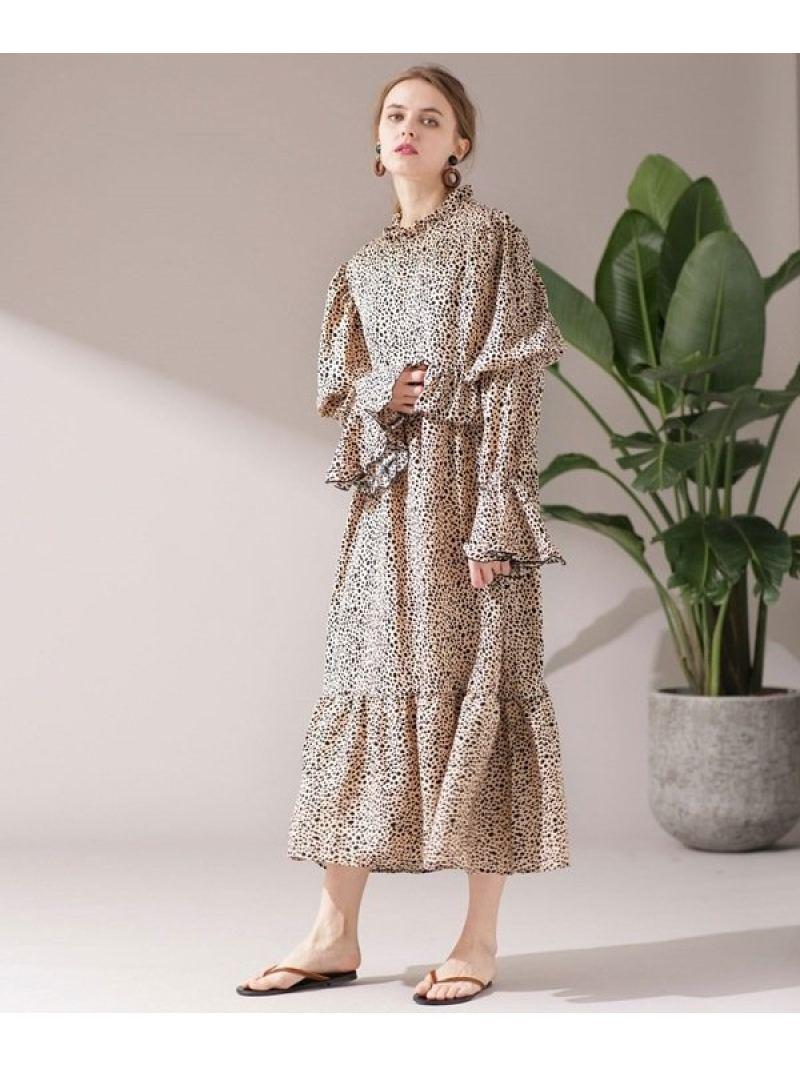 [Rakuten BRAND AVENUE]Leopard Maxi Dress Sister Jane ナノユニバース ワンピース【送料無料】