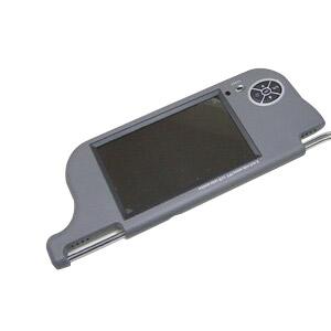 【送料無料】東芝 8インチ サンバイザーモニター 左右セット 大画面の液晶 ブラック・グレー