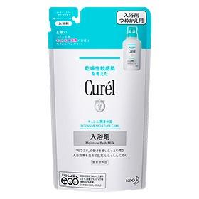 カサつく 荒れ性の肌もしっとり潤う キュレル 新色追加して再販 出荷 360ml 入浴剤 つめかえ用