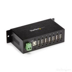 StarTech.com ウォールマウント型産業用7PUSB 2.0 ハブ ST7200USBM 目安在庫=○