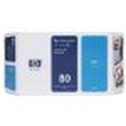 日本HP HP80 インクカートリッジ (シアン)(C4846A) 目安在庫=△