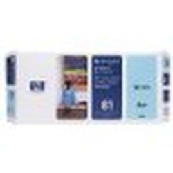 純正品 HP HP81 プリントヘッド/クリーナー ライトシアン (C4954A) 目安在庫=△