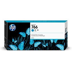 日本HP HP 766 インクカートリッジ シアン 300ml P2V89A 目安在庫=△