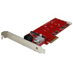 StarTech.com 2スロットPCIe M.2 RAIDコントローラカード PEXM2SAT3422 目安在庫=△