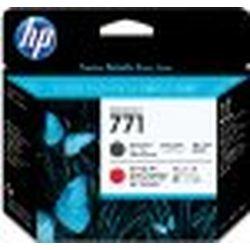 日本HP HP771 プリントヘッド マットブラック/クロムレッド CE017A 目安在庫=△