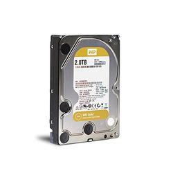 WESTERN DIGITAL WD2005FBYZ WD Gold 3.5インチ内蔵HDD 2TB SATA6Gb/s 7200rpm 128MB 目安在庫=○