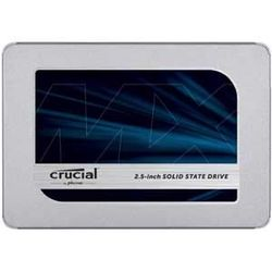 Crucial Crucial MX500 1000GB SATA 2.5 7mm (with 9.5mm adapter) SSD(0649528788245) 目安在庫=○