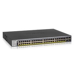 ネットギア・インターナショナル GS752TP 日本語対応 ギガ48Port PoE+(380W)スマートスイッチ(GS752TP-200AJS) 目安在庫=△
