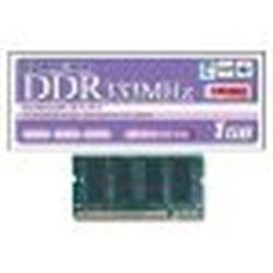 グリーンハウス GH-DNW333-1GBZ 1GB PC2700 200pin DDR SDRAM SODIMM 5年保証 メーカー在庫品