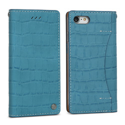 FANTASTICK Wetherby・Premium Croco (Blue) for iPhone 7 I7N06-16B767-14 目安在庫=△