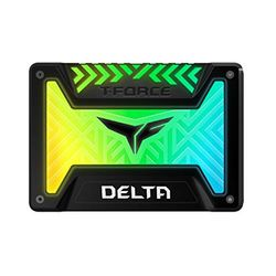 Team Team SSD T-Force Delta RGB 3D TLC 500GB Black(T253TR500G3C313) 目安在庫=△