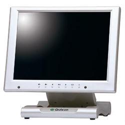 クイックサンプロダクツ 10.4インチ液晶ディスプレイタッチパネル搭載タイプ パールホワイト(QT-1007P(AVTP)) 目安在庫=△