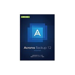 Acronis Acronis Backup 12 Virtual Host License incl.BOX+1Y保守(対応OS:その他)(V2PYBSJPS91) 目安在庫=△