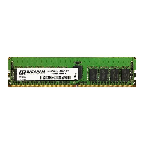 Dataram DRHS2666RS/16GB 16GBメモリ(HPE 815098-B21 互換品) 目安在庫=△