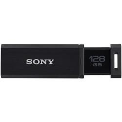 ソニー USB3.0対応 ノックスライド式USBメモリー 128GB ブラック(USM128GQX B) 目安在庫=△